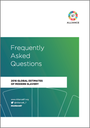 Modern slavery Global estimates FAQ